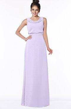 ColsBM Eileen Light Purple Gorgeous A-line Scoop Sleeveless Floor Length Bridesmaid Dresses