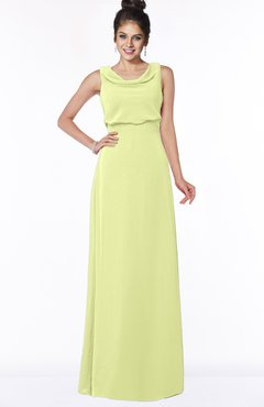 ColsBM Eileen Lime Sherbet Gorgeous A-line Scoop Sleeveless Floor Length Bridesmaid Dresses