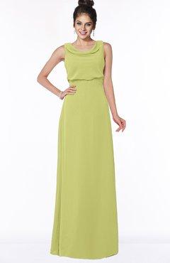 ColsBM Eileen Linden Green Gorgeous A-line Scoop Sleeveless Floor Length Bridesmaid Dresses