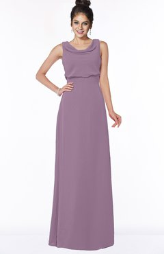 ColsBM Eileen Mauve Gorgeous A-line Scoop Sleeveless Floor Length Bridesmaid Dresses