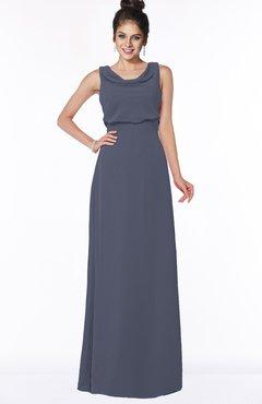 ColsBM Eileen Nightshadow Blue Gorgeous A-line Scoop Sleeveless Floor Length Bridesmaid Dresses