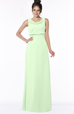 ColsBM Eileen Pale Green Gorgeous A-line Scoop Sleeveless Floor Length Bridesmaid Dresses