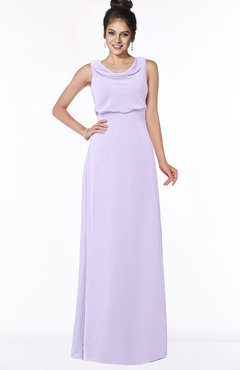 ColsBM Eileen Pastel Lilac Gorgeous A-line Scoop Sleeveless Floor Length Bridesmaid Dresses