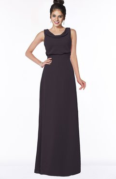 ColsBM Eileen Perfect Plum Gorgeous A-line Scoop Sleeveless Floor Length Bridesmaid Dresses
