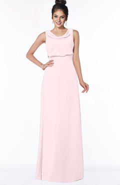 ColsBM Eileen Petal Pink Gorgeous A-line Scoop Sleeveless Floor Length Bridesmaid Dresses