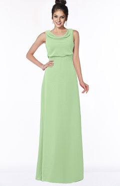 ColsBM Eileen Sage Green Gorgeous A-line Scoop Sleeveless Floor Length Bridesmaid Dresses