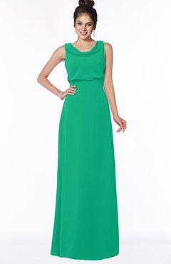 ColsBM Eileen Sea Green Gorgeous A-line Scoop Sleeveless Floor Length Bridesmaid Dresses