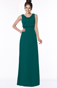 ColsBM Eileen Shaded Spruce Gorgeous A-line Scoop Sleeveless Floor Length Bridesmaid Dresses