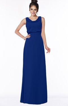 ColsBM Eileen Sodalite Blue Gorgeous A-line Scoop Sleeveless Floor Length Bridesmaid Dresses