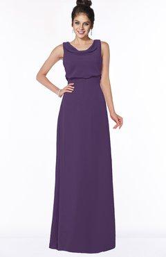 ColsBM Eileen Violet Gorgeous A-line Scoop Sleeveless Floor Length Bridesmaid Dresses