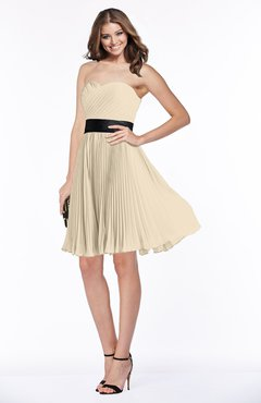 8c5a5c45062 ColsBM Lizbeth Champagne Gorgeous A-line Sleeveless Chiffon Ruching  Bridesmaid Dresses