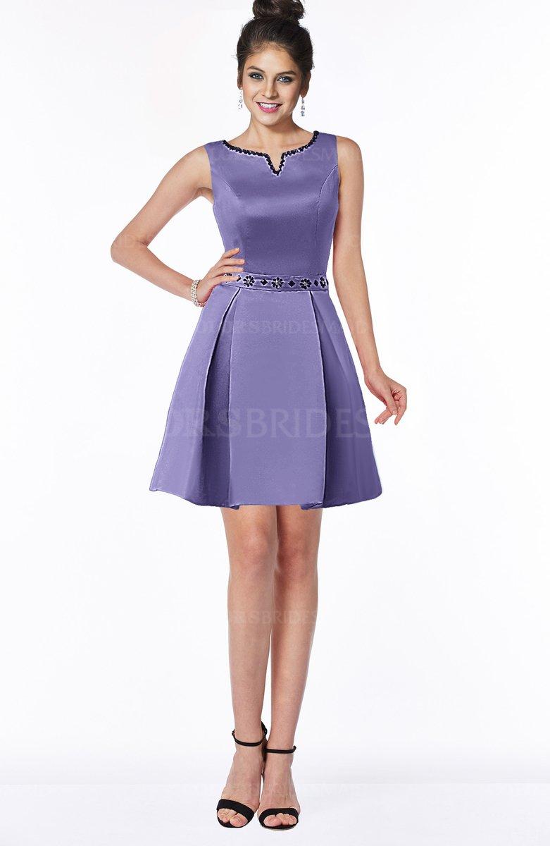 ColsBM Rose Aster Purple Bridesmaid Dresses - ColorsBridesmaid