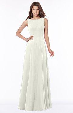 ColsBM Anika Ivory Modest A-line Scoop Sleeveless Zip up Chiffon Bridesmaid Dresses