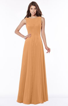 ColsBM Anika Pheasant Modest A-line Scoop Sleeveless Zip up Chiffon Bridesmaid Dresses