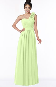 ColsBM Elisa Butterfly Simple A-line One Shoulder Half Backless Chiffon Flower Bridesmaid Dresses