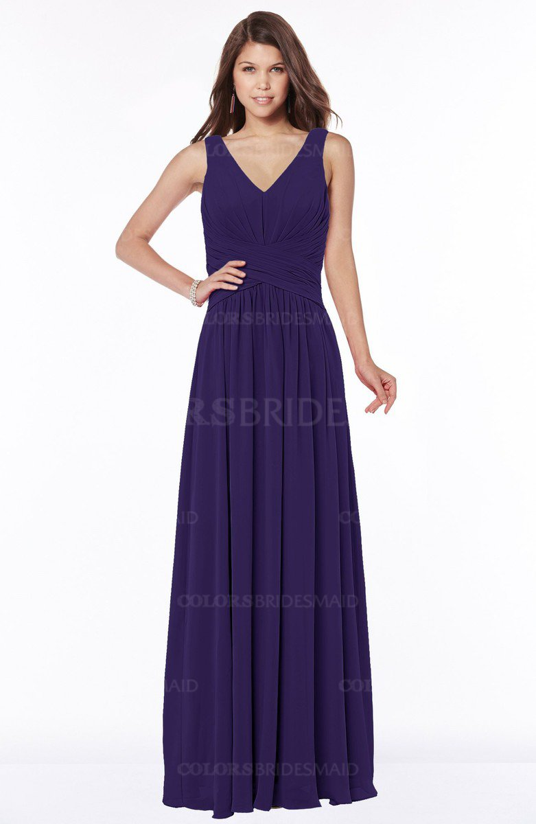 ColsBM Yasmin Royal Purple Bridesmaid Dresses - ColorsBridesmaid