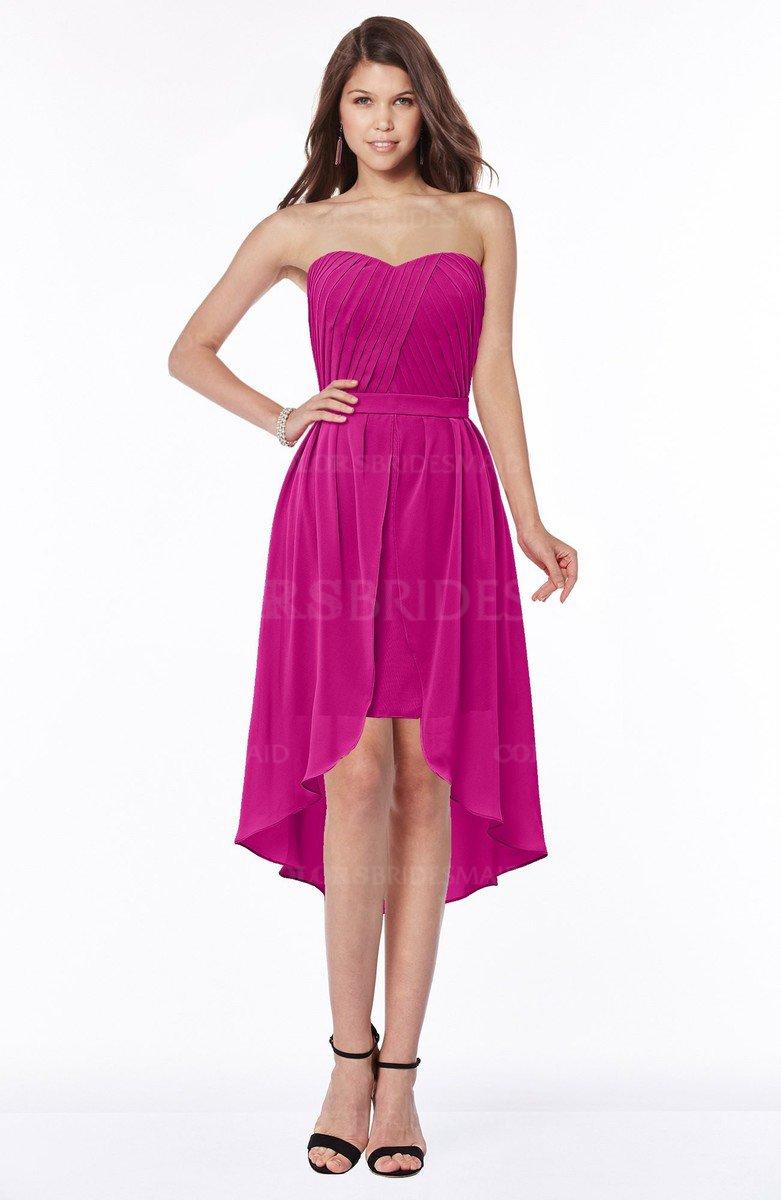Anahi Hot colsbm anahi - hot pink bridesmaid dresses
