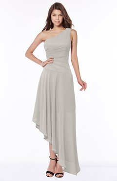 ColsBM Maggie Ashes Of Roses Luxury A-line Zip up Chiffon Floor Length Ruching Bridesmaid Dresses