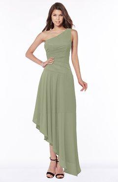 ColsBM Maggie Bog Luxury A-line Zip up Chiffon Floor Length Ruching Bridesmaid Dresses