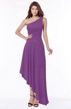 ColsBM Maggie Dahlia Luxury A-line Zip up Chiffon Floor Length Ruching Bridesmaid Dresses