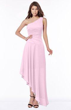 ColsBM Maggie Fairy Tale Luxury A-line Zip up Chiffon Floor Length Ruching Bridesmaid Dresses