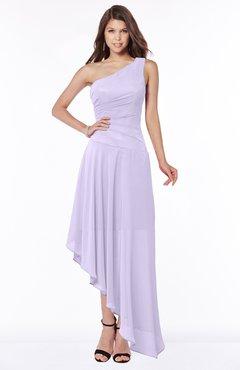 ColsBM Maggie Light Purple Luxury A-line Zip up Chiffon Floor Length Ruching Bridesmaid Dresses