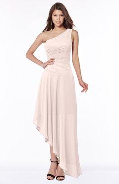 ColsBM Maggie Silver Peony Luxury A-line Zip up Chiffon Floor Length Ruching Bridesmaid Dresses