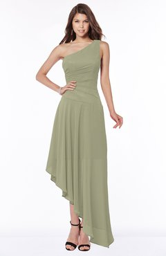 ColsBM Maggie Sponge Luxury A-line Zip up Chiffon Floor Length Ruching Bridesmaid Dresses