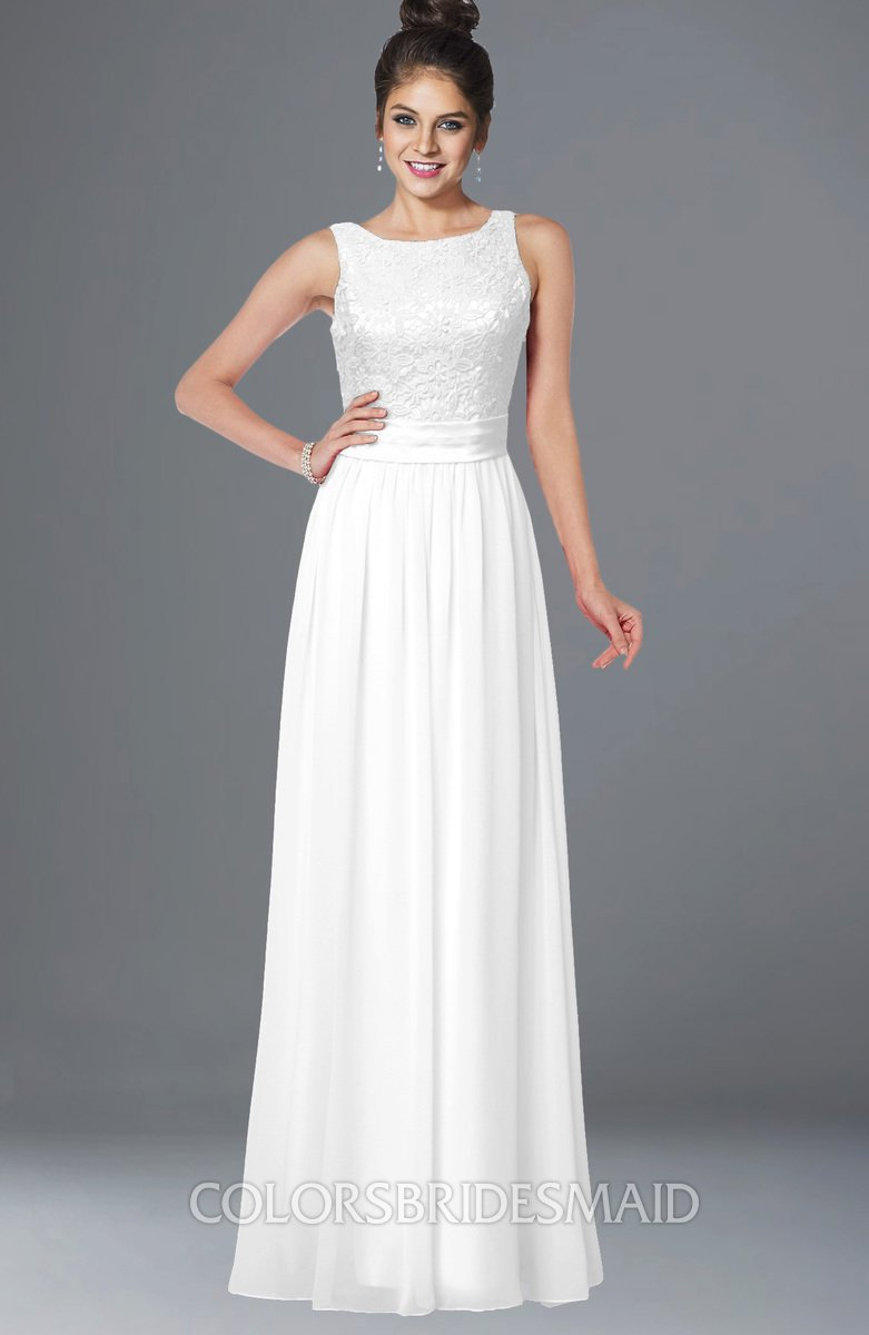 ColsBM Juliet White Bridesmaid Dresses - ColorsBridesmaid