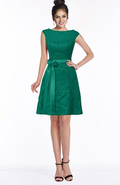 cb8ee437139f ColsBM Leigh Mint Modest A-line Sleeveless Zip up Satin Lace Bridesmaid  Dresses