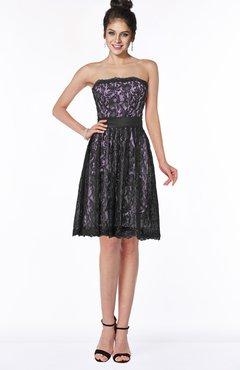 0d42d8d92a2 ColsBM Kenya Begonia Romantic A-line Strapless Sleeveless Knee Length  Bridesmaid Dresses