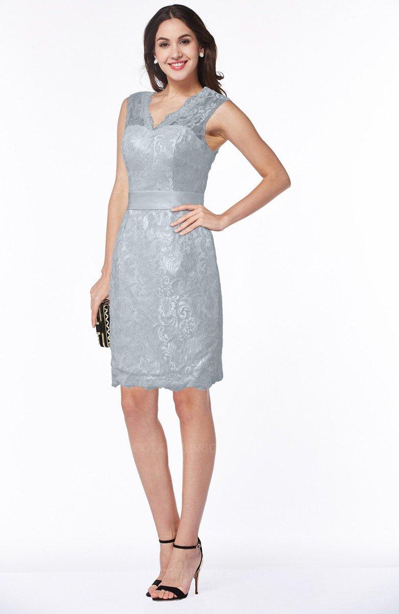 Silver Satin Bridesmaid Dresses - Down To Earth Bali dd0913509c9e