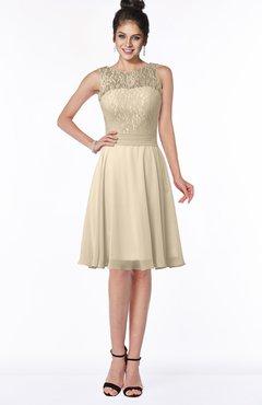 Colsbm Helen Champagne Glamorous A Line Scoop Zip Up Chiffon Sash Bridesmaid Dresses
