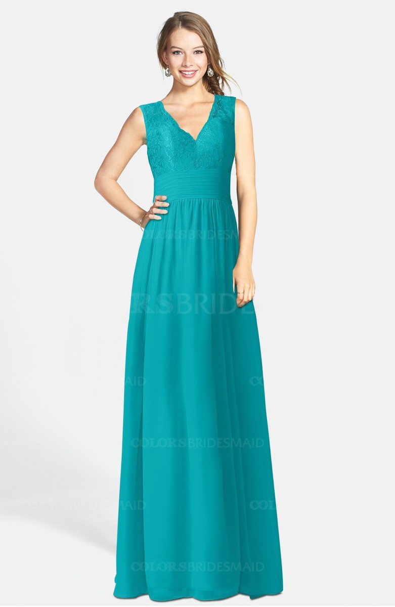 ColsBM Ciara Teal Bridesmaid Dresses - ColorsBridesmaid