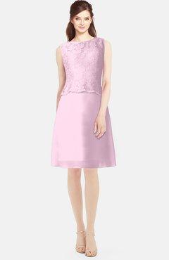 85f6256a6d2e ColsBM Tori Baby Pink Modest A-line Sleeveless Chiffon Mini Bridesmaid  Dresses