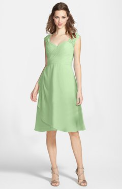099be6cfb0954 ColsBM Kali Sage Green Hippie A-line Sweetheart Sleeveless Zip up Lace Bridesmaid  Dresses