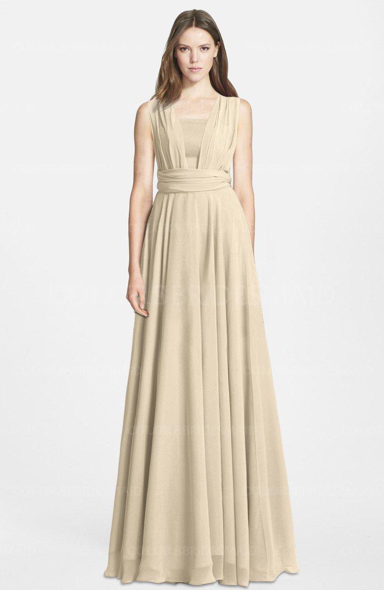 ColsBM Nala Novelle Peach Bridesmaid Dresses - ColorsBridesmaid