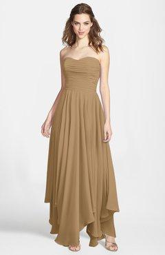 9116739d7da1 ColsBM Briana Indian Tan Gorgeous Princess Sweetheart Sleeveless Asymmetric Bridesmaid  Dresses