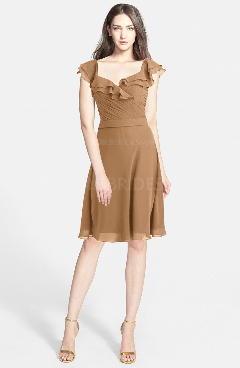 Light Brown Dresses