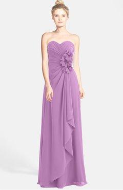 orchid bridesmaid dresses