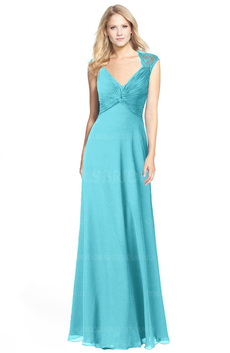 ColsBM Kara Turquoise Bridesmaid Dresses - ColorsBridesmaid