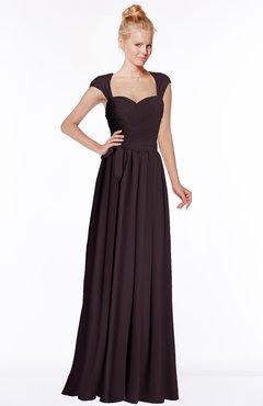 ColsBM Anna Italian Plum Modest Sleeveless Half Backless Chiffon Floor Length Bridesmaid Dresses