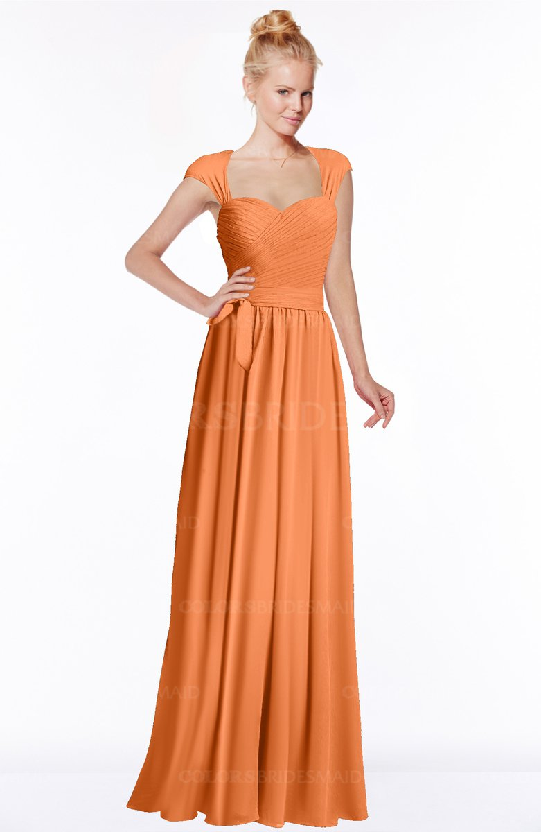 462e252f4984 ColsBM Anna Mango Modest Sleeveless Half Backless Chiffon Floor Length  Bridesmaid Dresses
