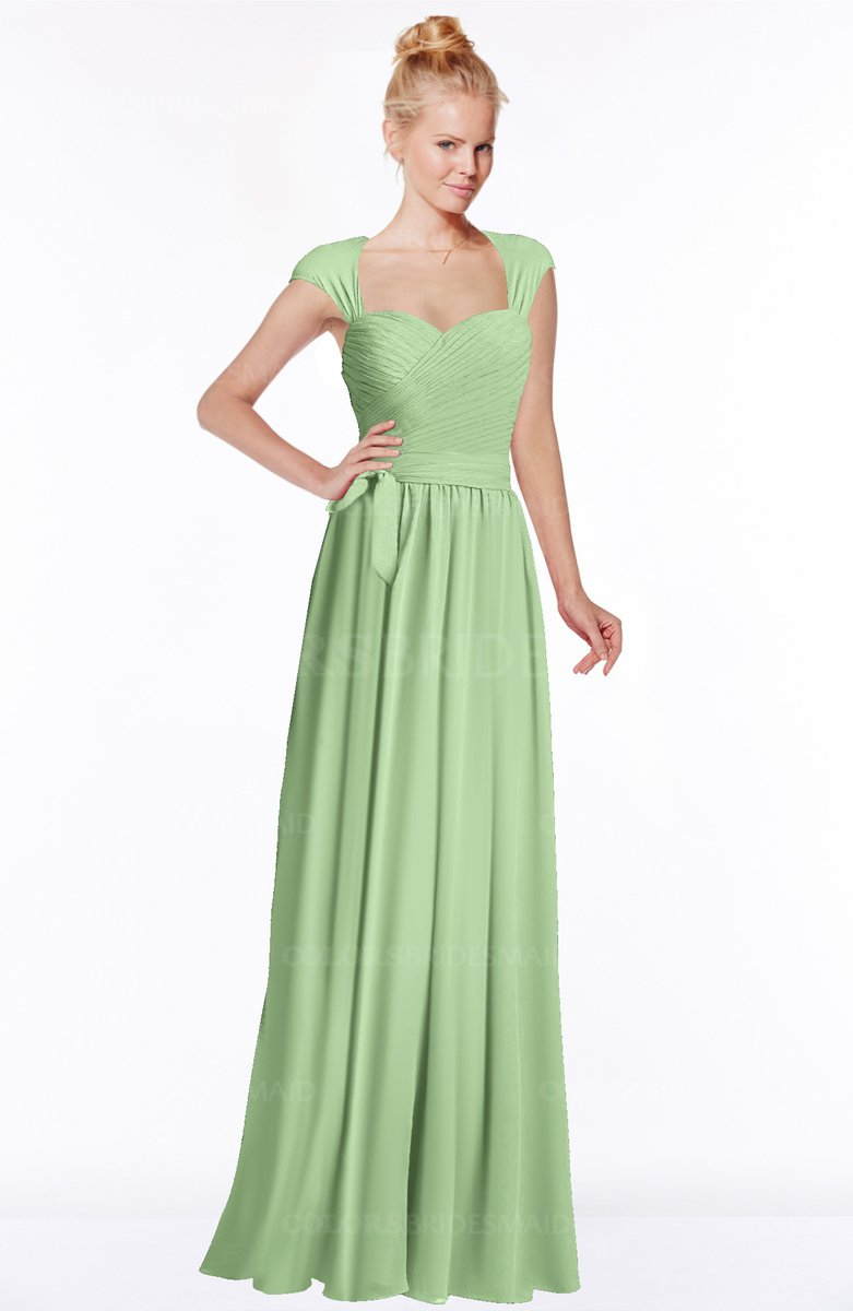 Colsbm anna sage green bridesmaid dresses colorsbridesmaid - What color is sage green ...