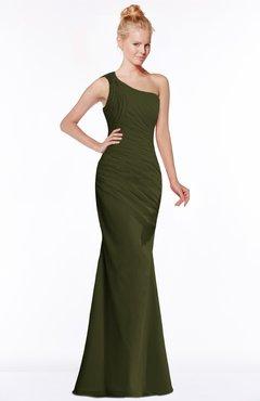 ColsBM Michelle Beech Simple A-line Sleeveless Chiffon Floor Length Bridesmaid Dresses
