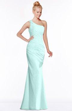 ColsBM Michelle Blue Glass Simple A-line Sleeveless Chiffon Floor Length Bridesmaid Dresses