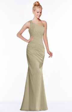 ColsBM Michelle Candied Ginger Simple A-line Sleeveless Chiffon Floor Length Bridesmaid Dresses