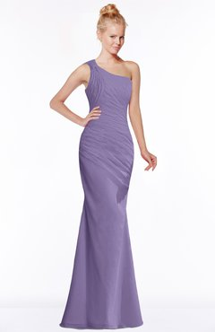 ColsBM Michelle Chalk Violet Simple A-line Sleeveless Chiffon Floor Length Bridesmaid Dresses
