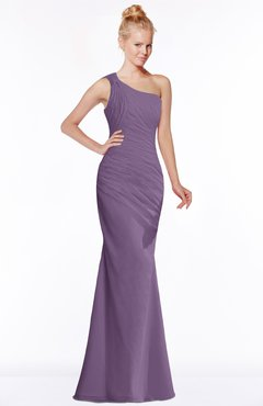ColsBM Michelle Chinese Violet Simple A-line Sleeveless Chiffon Floor Length Bridesmaid Dresses