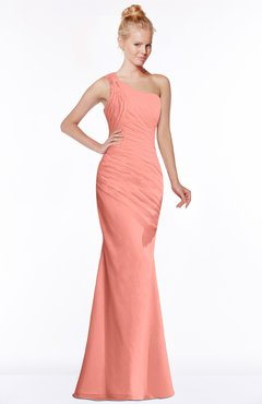 ColsBM Michelle Desert Flower Simple A-line Sleeveless Chiffon Floor Length Bridesmaid Dresses